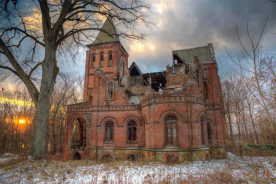 Wyndclyffe Abandoned Castle, Rhinebeck, New York