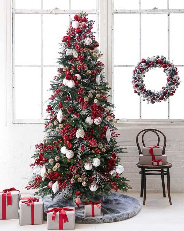 Beautiful Christmas Trees Nordic Frost Tree