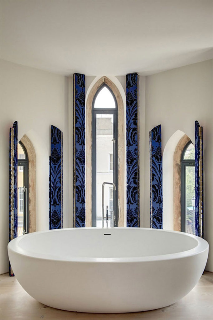 Westbourne Grove Partially Converted Church Apartment