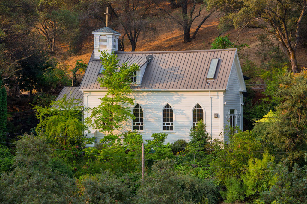 Converted Church House in California Wine Country