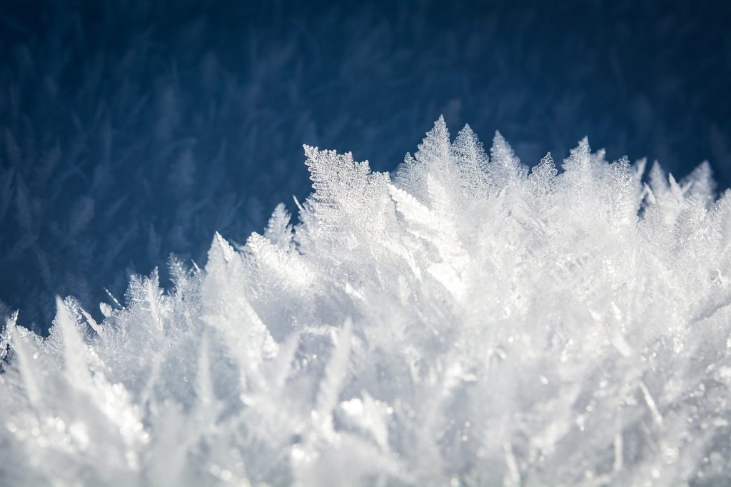 Ice Crystals Macro