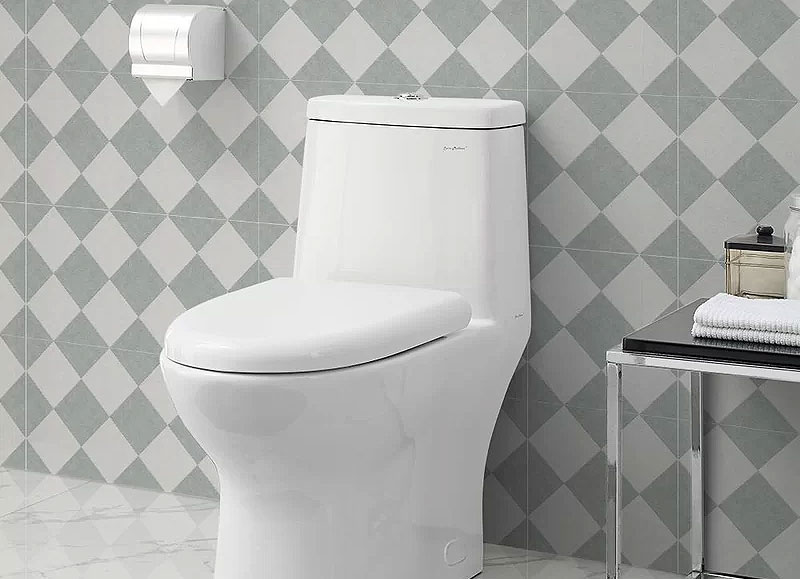 Swiss Madison Dual-Flush Elongated One-Piece Toilet