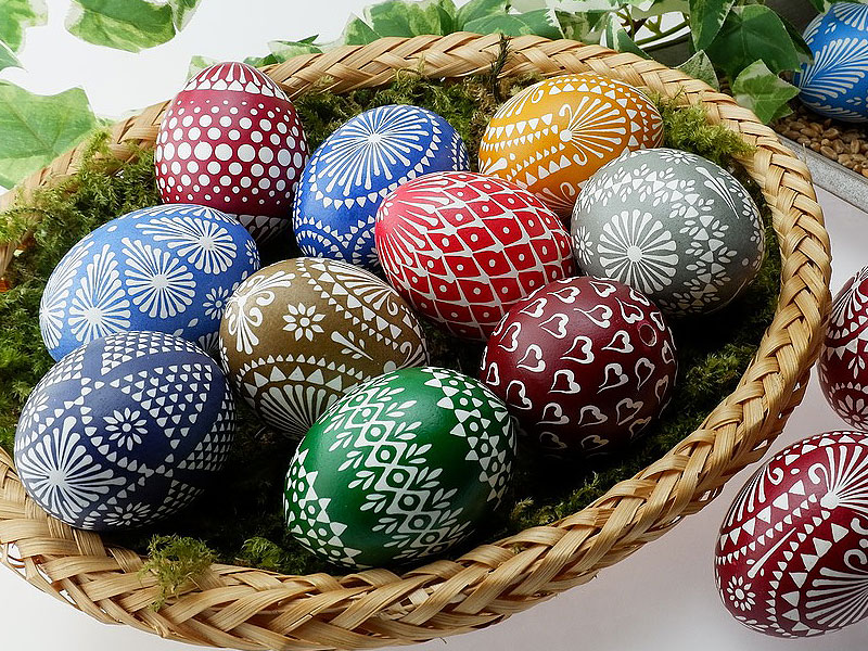 Beautiful & Unique Hand-Painted Easter Eggs