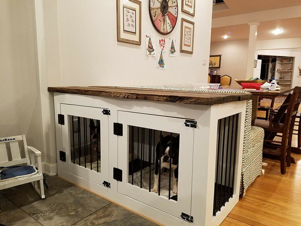 Custom Dog Crate Furniture
