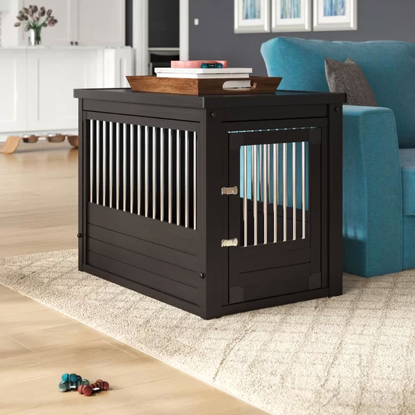 Extra Large Dog Crate End Table
