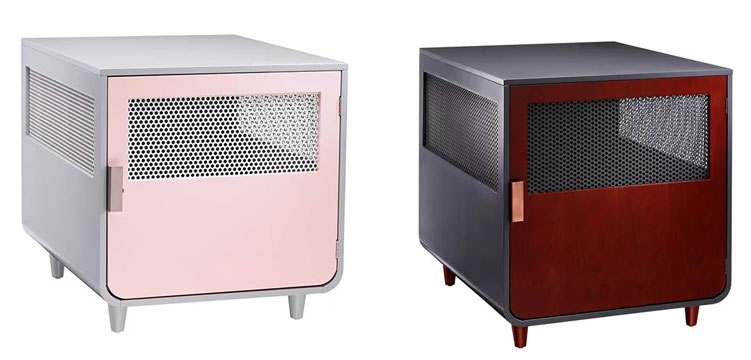 Staart Radius Ultra-Modern Dog Crate Color Options