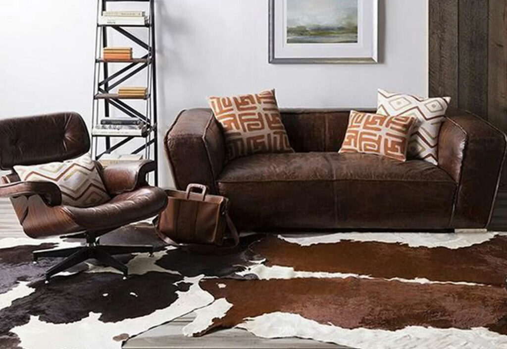 Masculine Leather Home Furniture