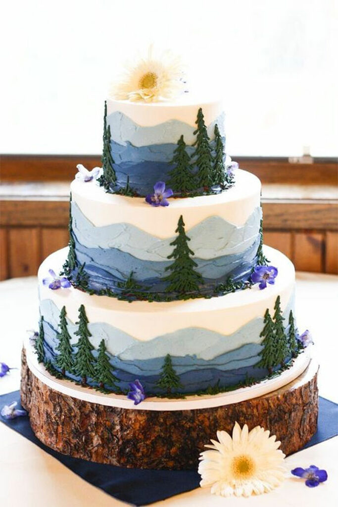 Wonderful Wilderness Cake