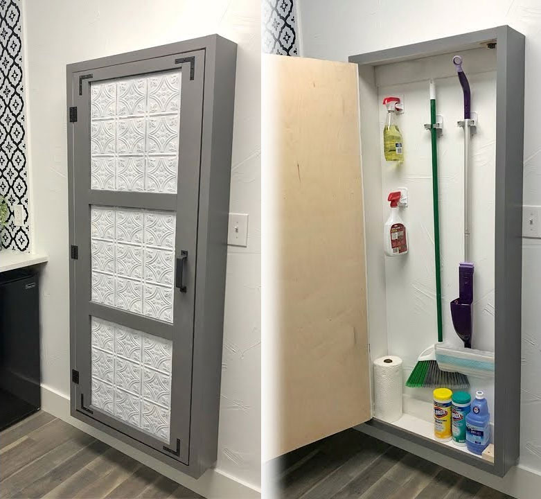 DIY Broom Closet