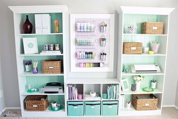 DIY Craft Supplies Organizer