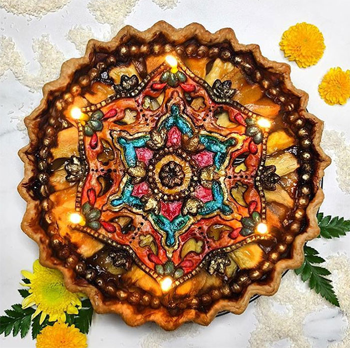 Diwali Festival of Lights Pie