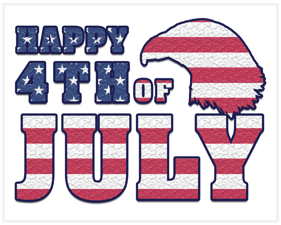 Happy 4th of July Independence Day Printable