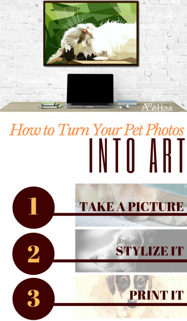 How to Turn Your Favorite Pet Photo into Art