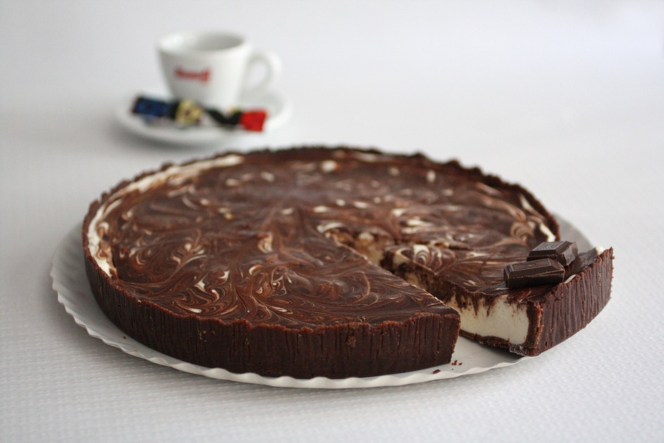 Marble Chocolate Pie