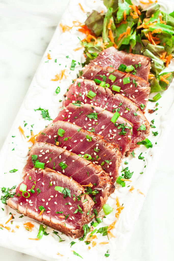 Marinated & Seared Ahi Tuna