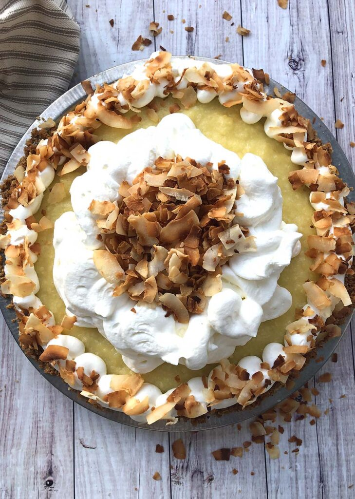 Beautiful Coconut Cream Pie