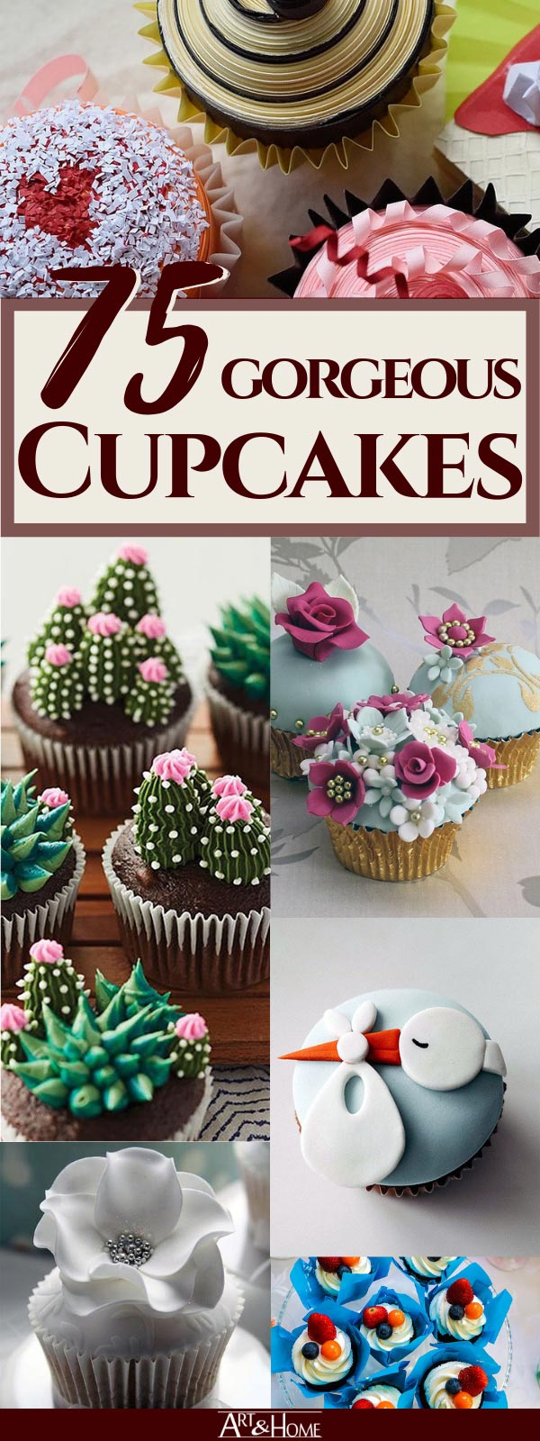 From deliciously decorated individual cupcakes, unique themed cupcake displays, to beautiful cupcake trees, there's a lot of sweet inspiration for the baker in your family.