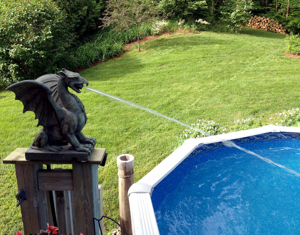 Decorative Pool Spitters