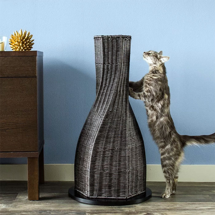 Modern Cat Scratching Post