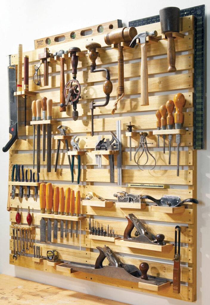 DIY Garage Hacks | Multi-Purpose DIY Tool Rack