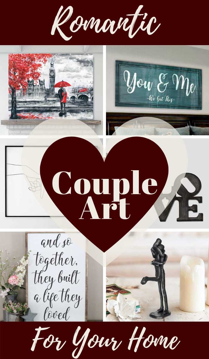 Romantic Couple Art for Your Home