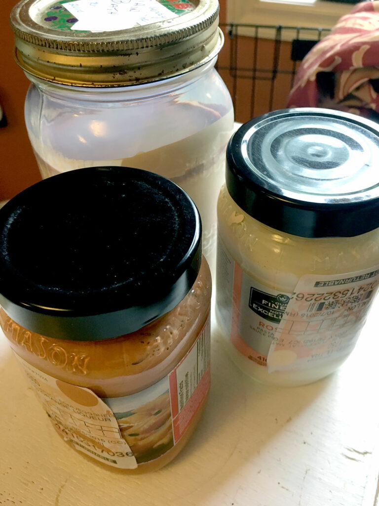 DIY Garage Hacks | Use Old Jars to Store Leftover Paint