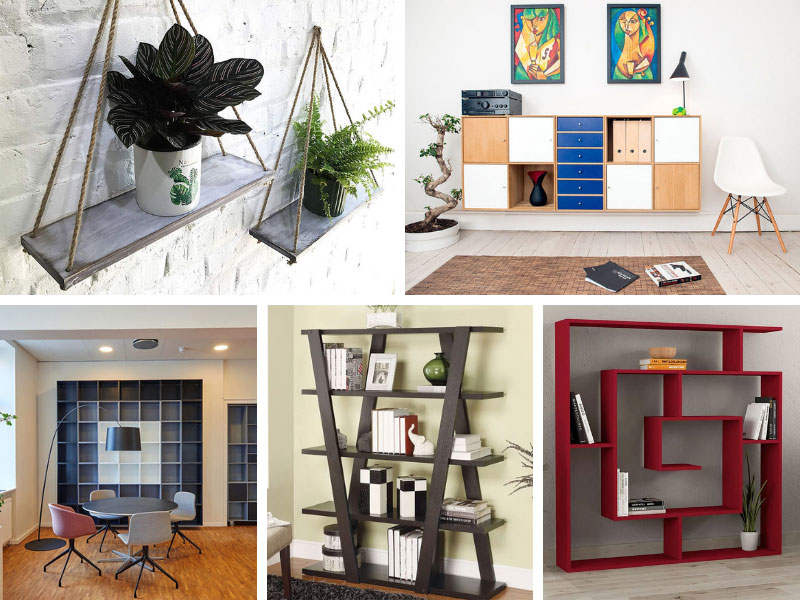 Unique Shelves & Shelving Solutions for Your Home