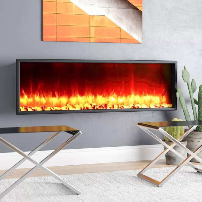 Belden Wall Mounted Electric Fireplace