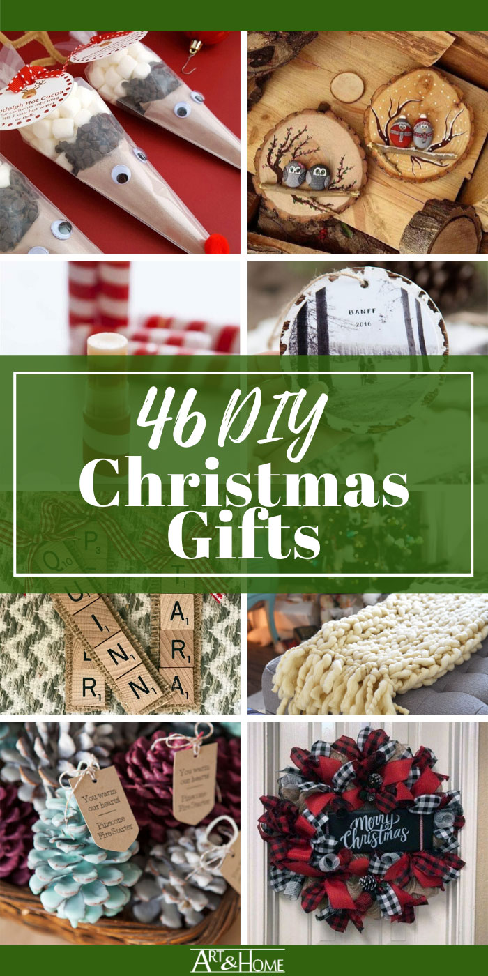 DIY Christmas Gifts People Will Actually Want to Receive