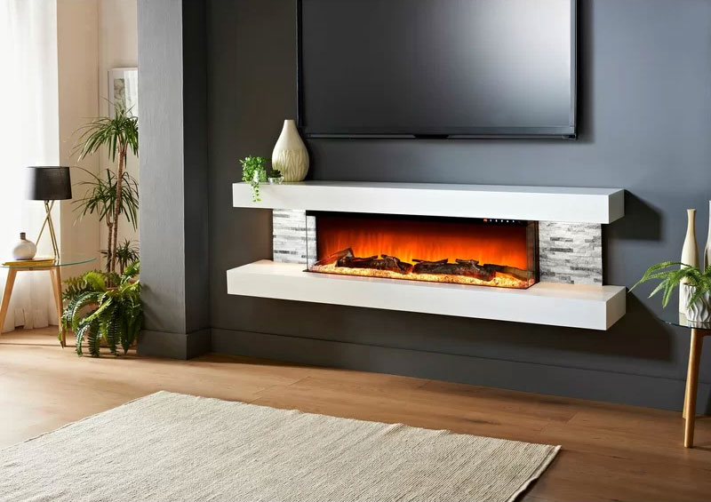 Katlyn Wall Mounted Fireplace