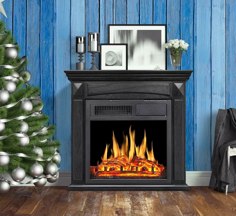 Swedish Hill Petite Fireplace
