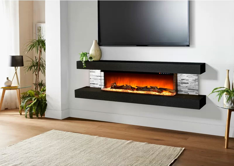 Vegas Wall Mounted Fireplace