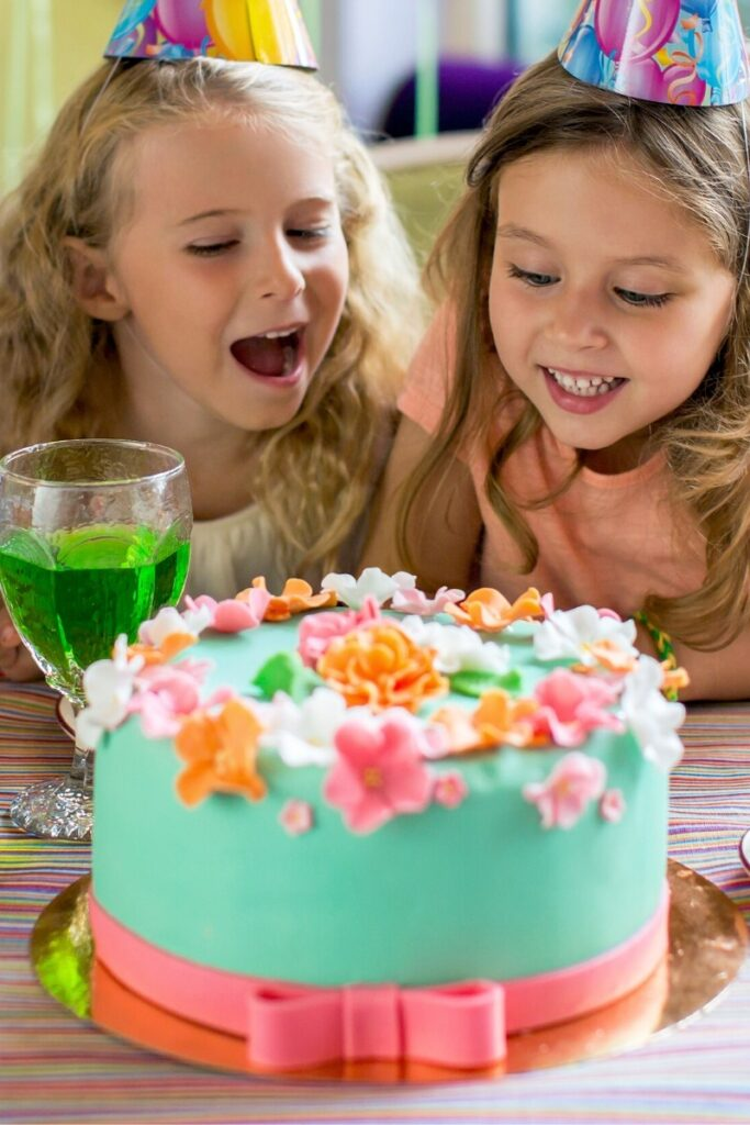 Birthday Cake Ideas for Girls - Spring Flowers