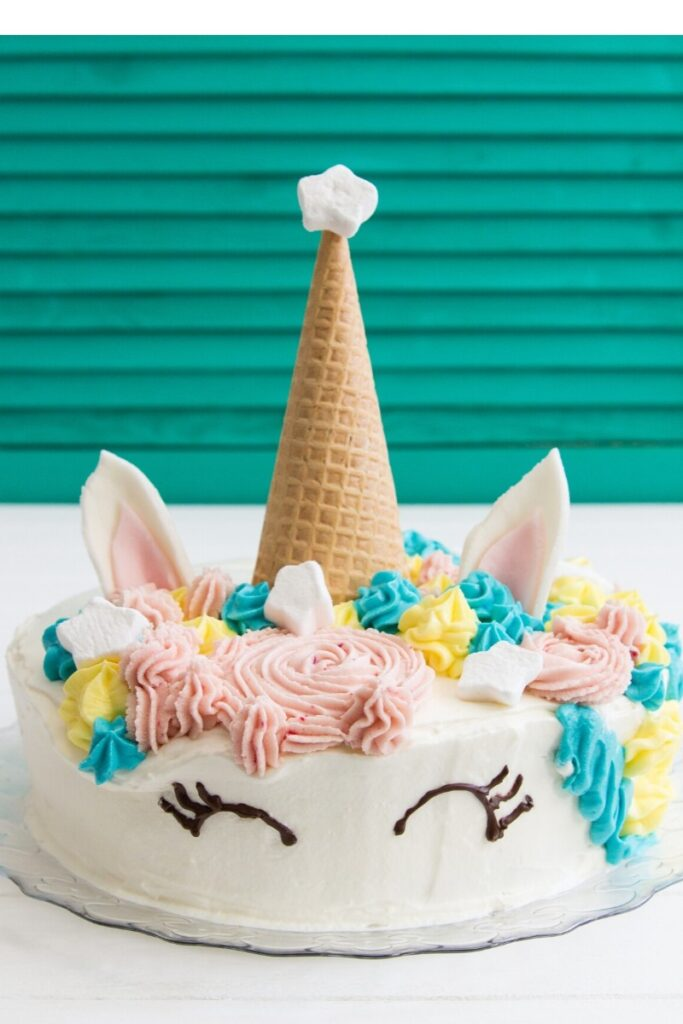 Birthday Cake Ideas for Girls - Unicorn Cake
