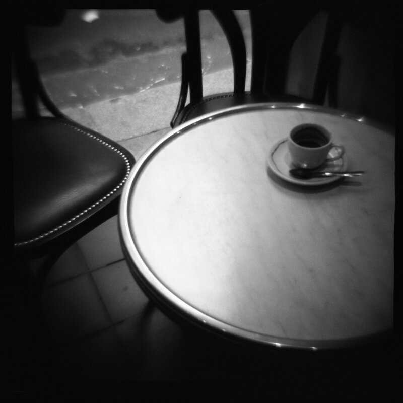 Cafe Daniel Grant Photographic Print