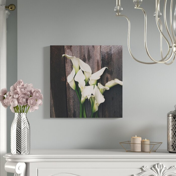 Calla Lilies by Olivia Joy Photographic Canvas Print