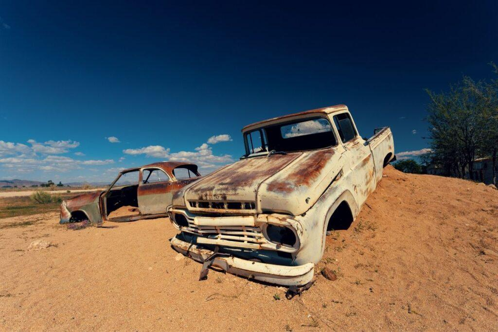 Decaying Abandoned Pickup Truck