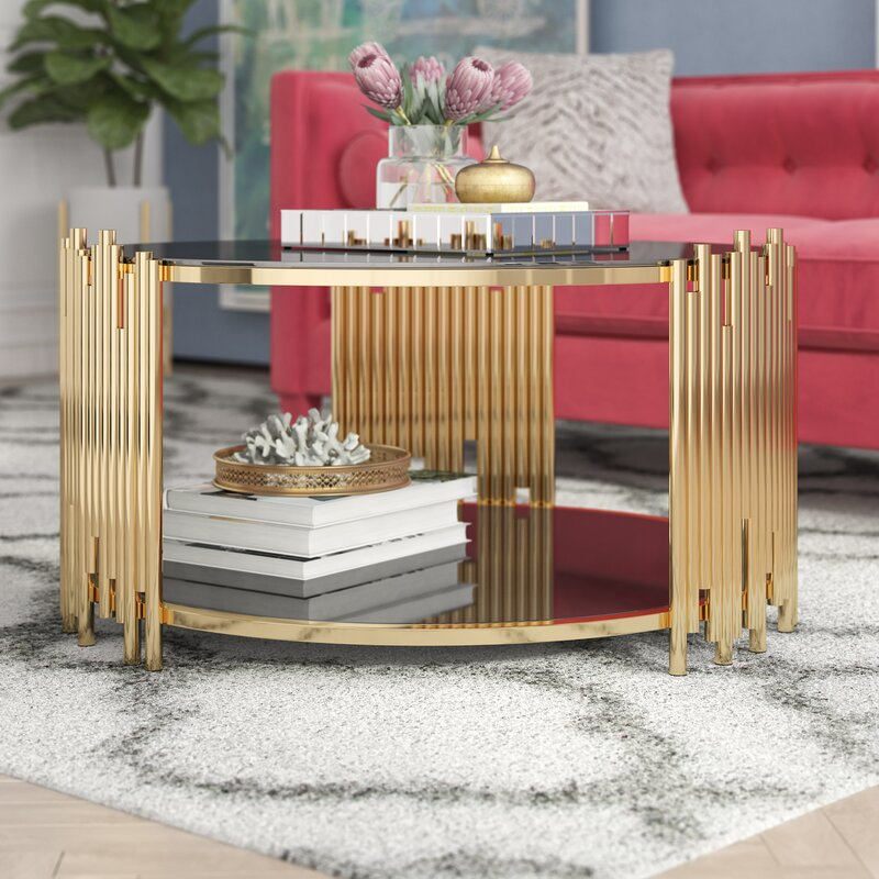 Every Quinn Borton Gold Coffee Table