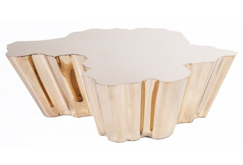 Ferdi Rose Gold Coffee Table