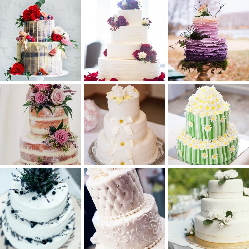 Gorgeous Wedding Cake Ideas
