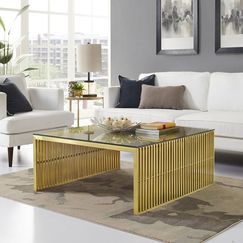 Gunnar Gold Coffee Table