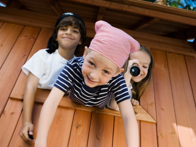 Outdoor fun with Kids Playhouses