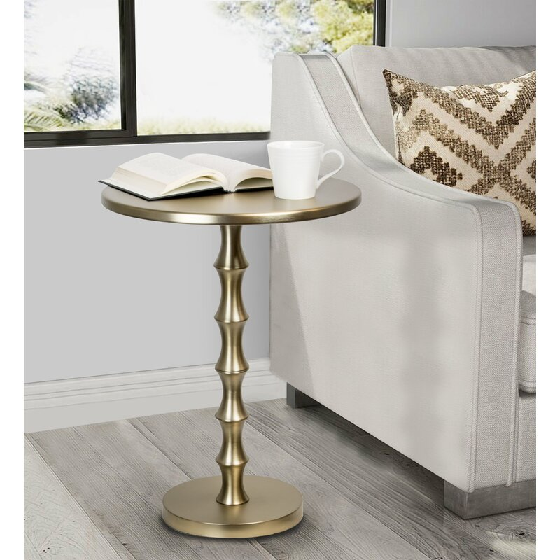 Layfield Gold End Table