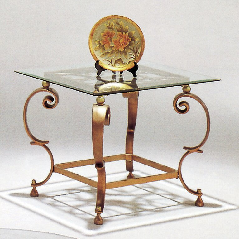 Lynton Gold End Table
