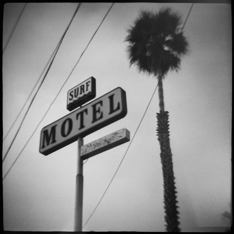 Surf Motel Daniel Grant Toy Camera Photography