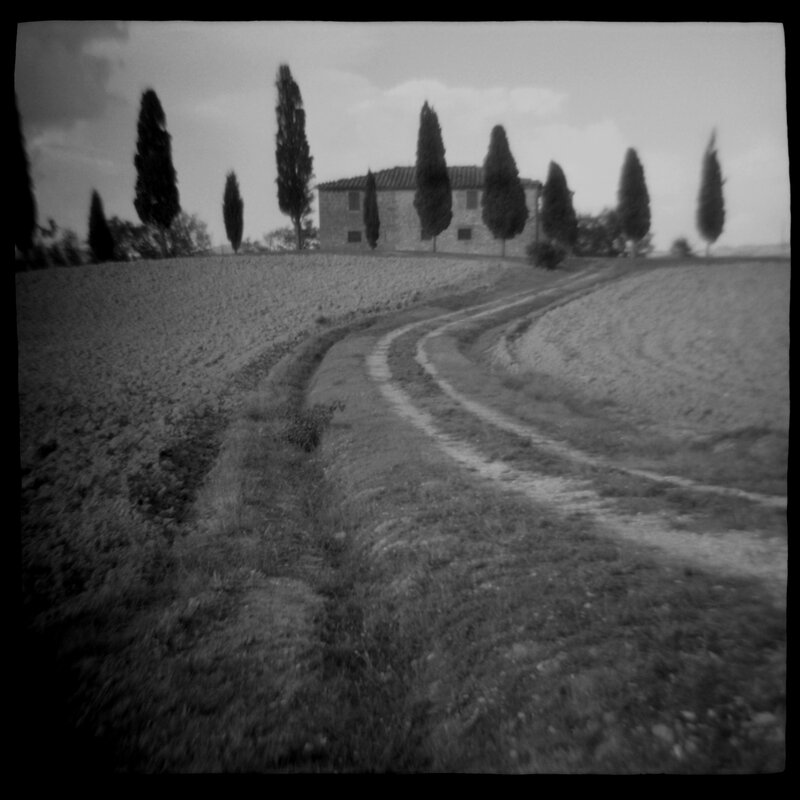 Tuscan Villa Daniel Grant Toy Camera Photographic Print