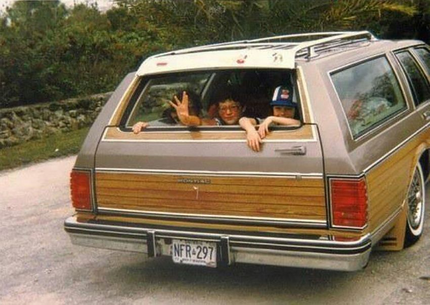 Old Betsy was a vintage station wagon like this one