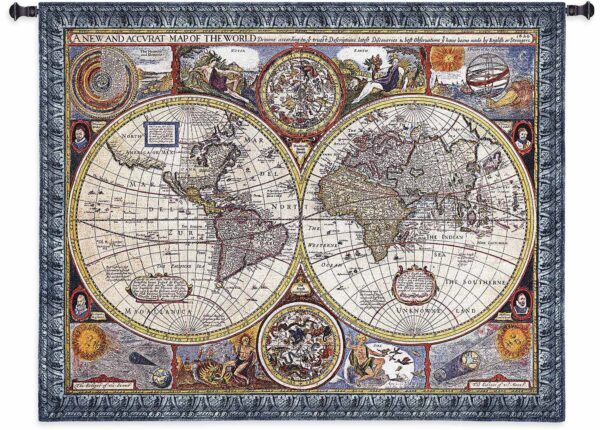"""A New and Accurate Map 