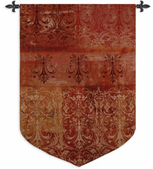 """Abstract Damask Poppy Sculpted 