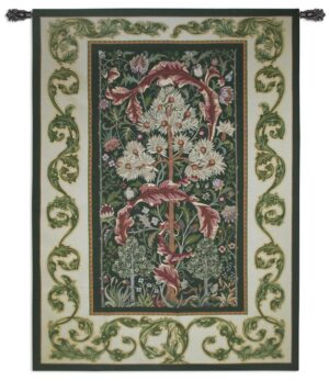 "Acanthus Forest by William Morris | Large Traditional Tapestry | 80"" x 60"""